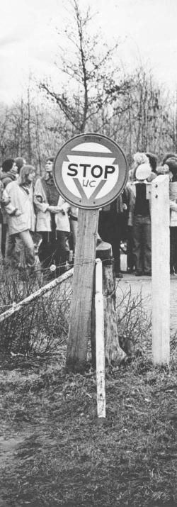 Beeld van de demonstratie