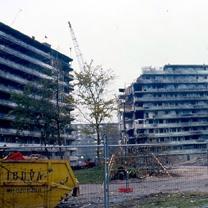 De verwoeste flats